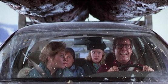 Christmas Vacation Driving