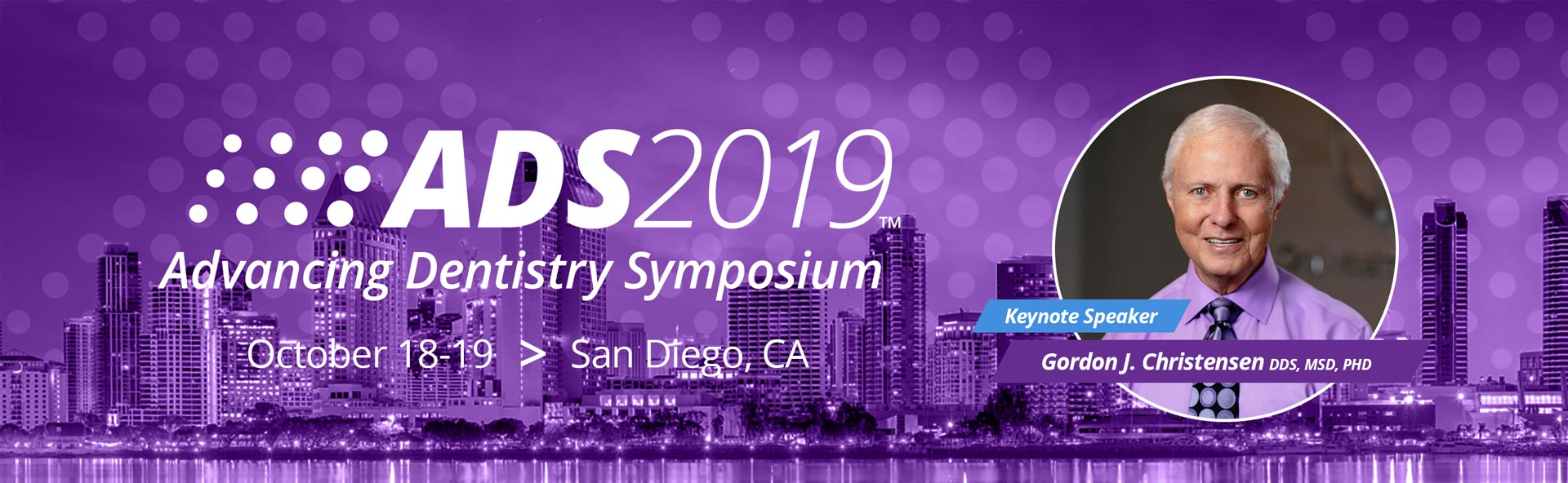 ADS2019 - San Diego, CA - October 18-19