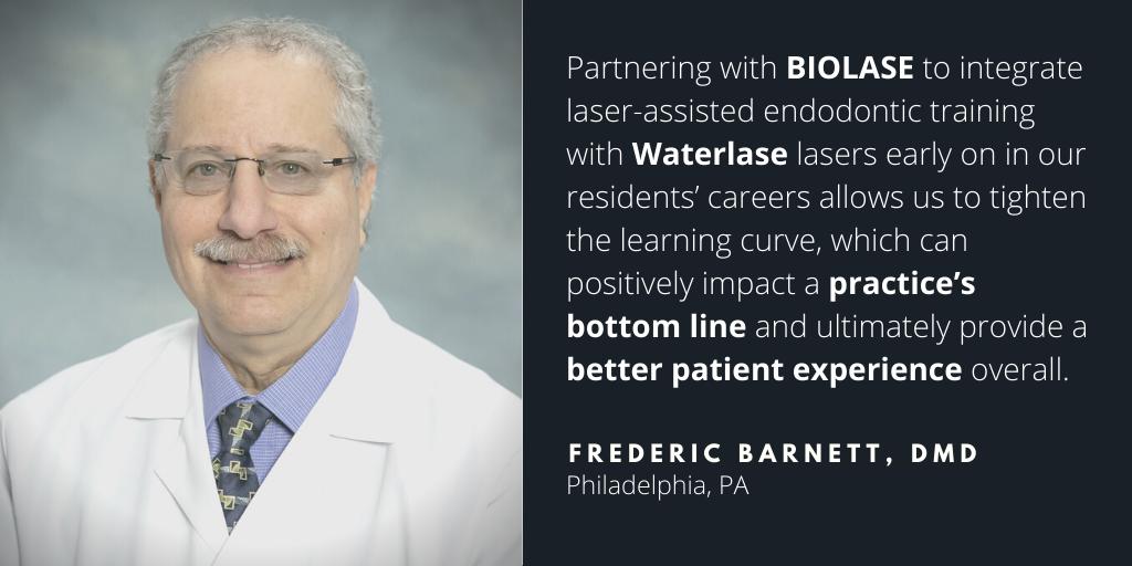 Waterlase Dentist - Dr. Fred Barnett