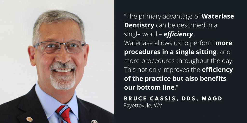 Waterlase Dentist - Dr. Bruce Cassis