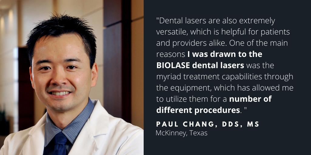 Waterlase Dentist - Dr. Paul Chang