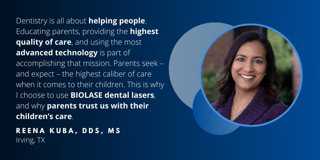 Waterlase Dentist - Dr. Reena Kuba