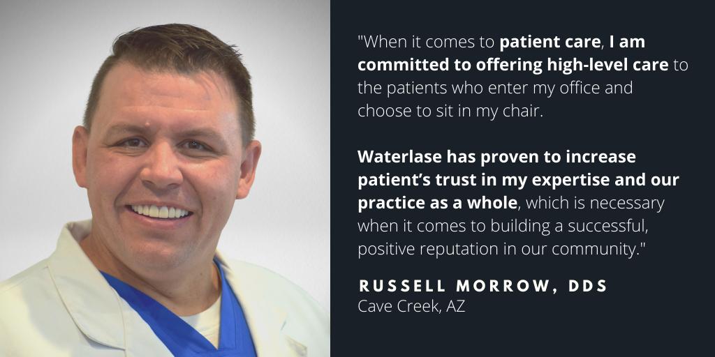 Waterlase Dentist - Dr. Russel Morrow