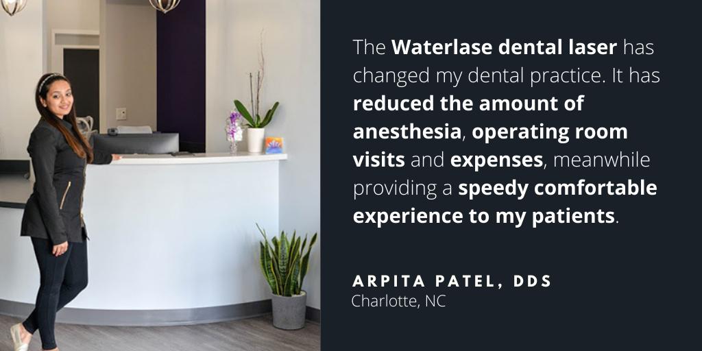 Waterlase Dentist - Arpita Patel, DDS