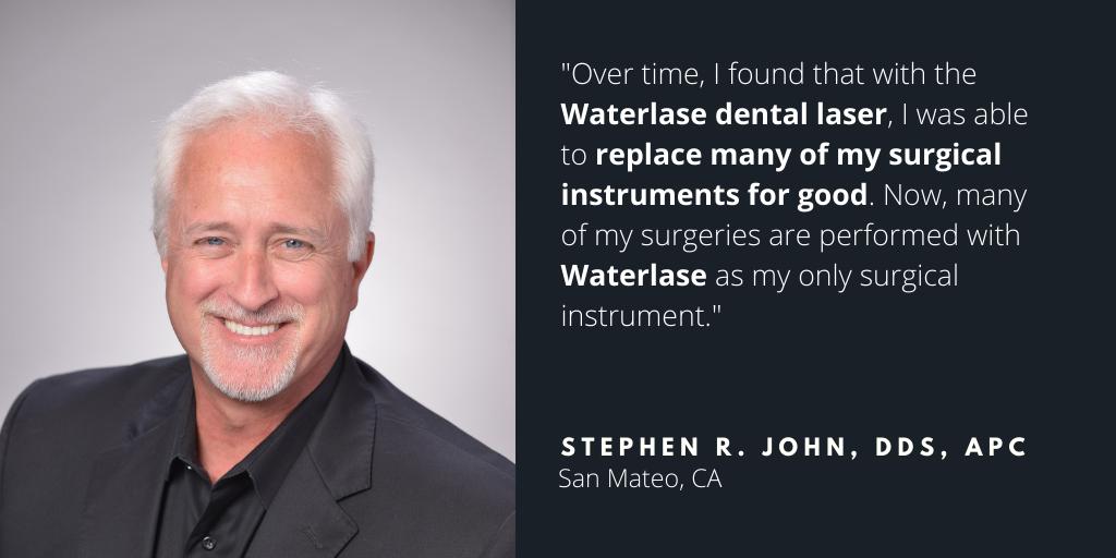 Waterlase Dentist - Dr. Stephen John