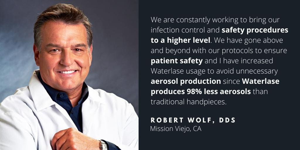 Waterlase Dentist - Robert Wolf, DDS