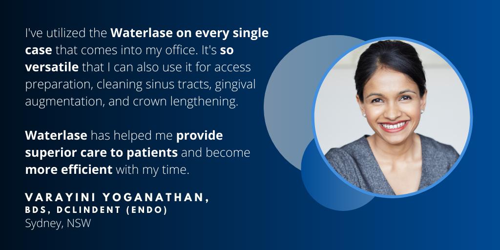 Waterlase Dentist - Dr. Varayini Yoganathan