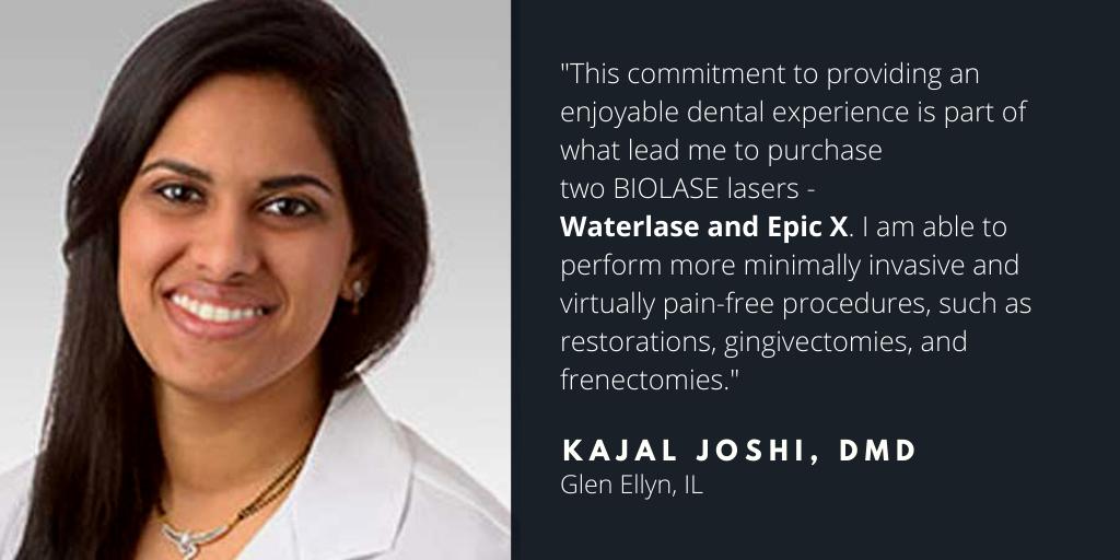 Waterlase Dentist - Dr. Kajal Joshi