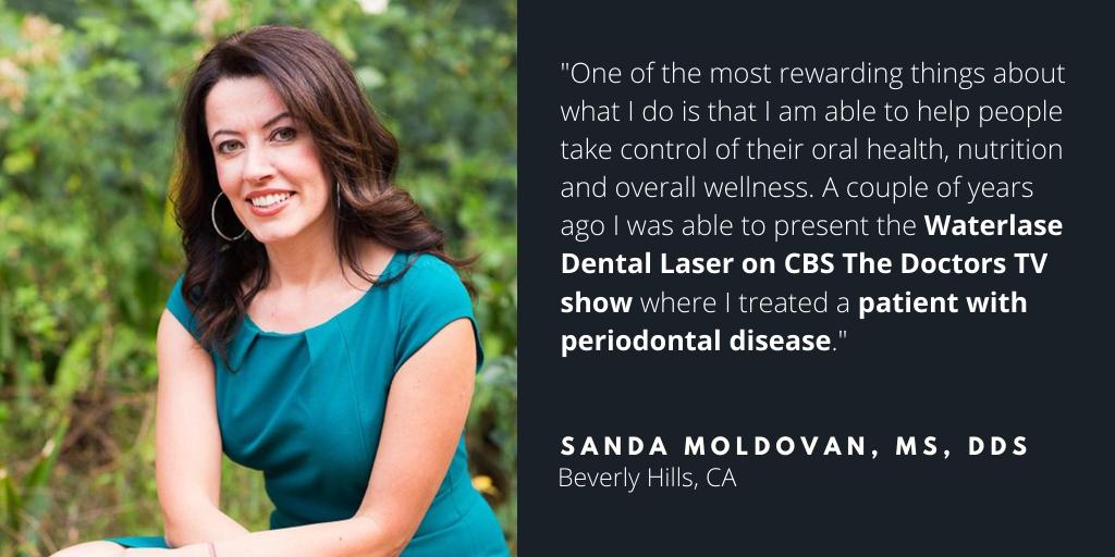 Waterlase Dentist - Sanda Moldovan, MS, DDS